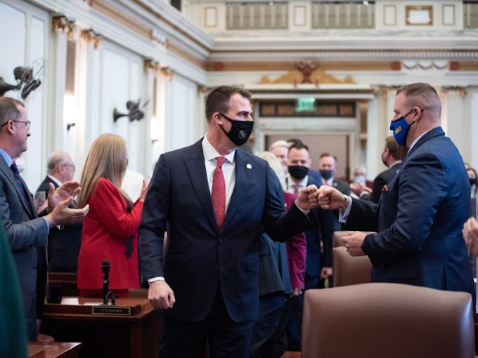 OK Gov. Kevin Stitt Signs Bill That Will Allow Drivers To Run Over BLM Rioters...