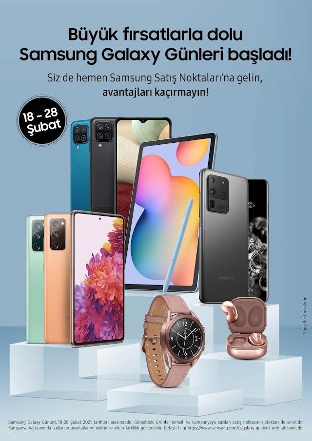 Büyük fırsatlarla dolu Samsung Galaxy Günleri başladı