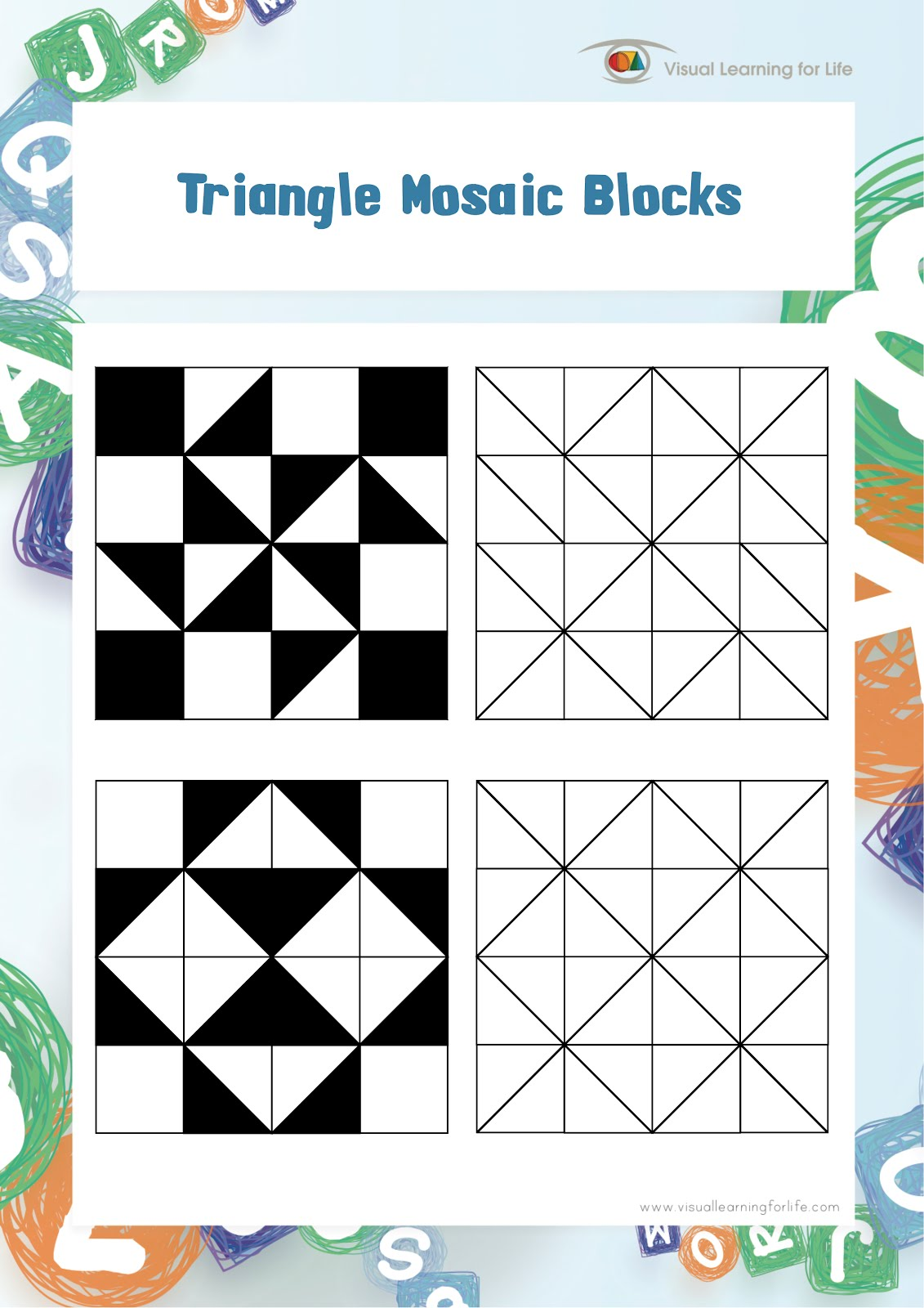 Visual Perceptual Worksheets Printable