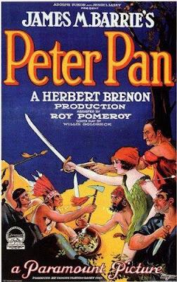 Póster película Peter Pan - 1924