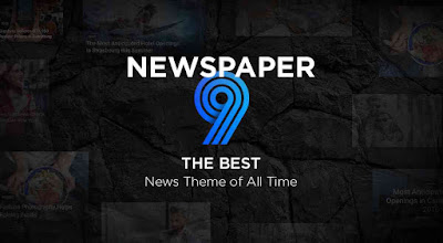 download newspaper 9 template blogger free