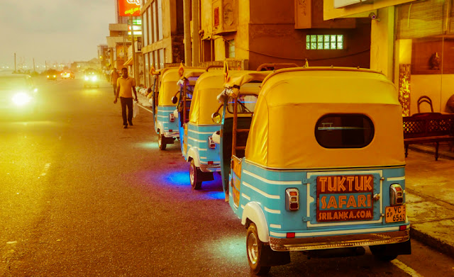 Tuk Tuk Safari is a fun way to tour the streets of Colombo