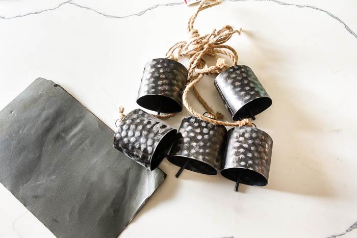 Sanding hanging bells