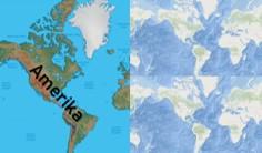 letak geografis dan astronomis benua amerika