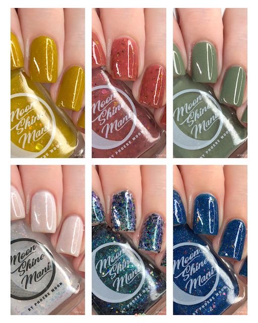 Moon Shine Mani Get A Clue Collection