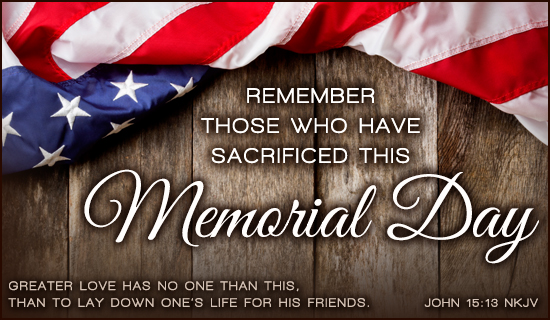 What Day Is Memorial day