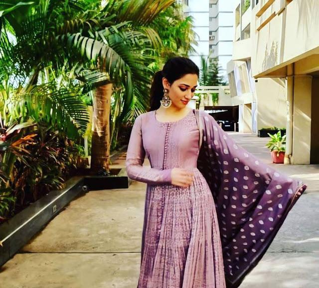 Tamanna Bhatia in skirt