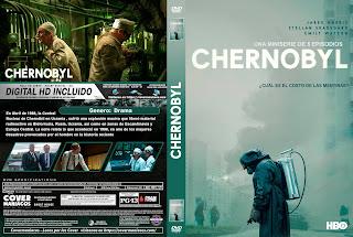 CARATULA CHERNOBYL - 2019 [COVER DVD]