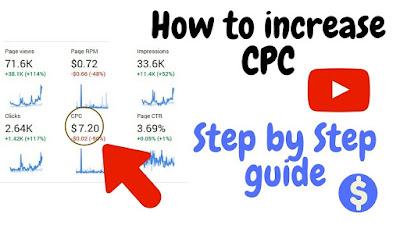 increase adsense cpc rates