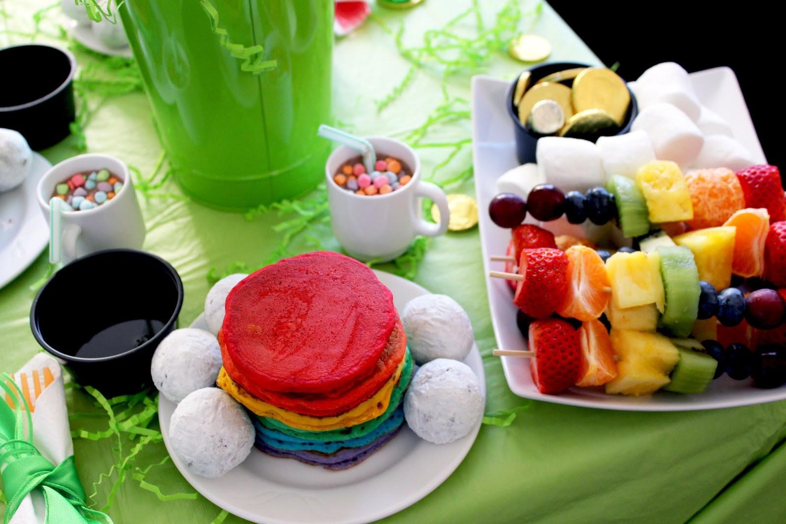 Worth Pinning St Patrick S Day Rainbow Breakfast