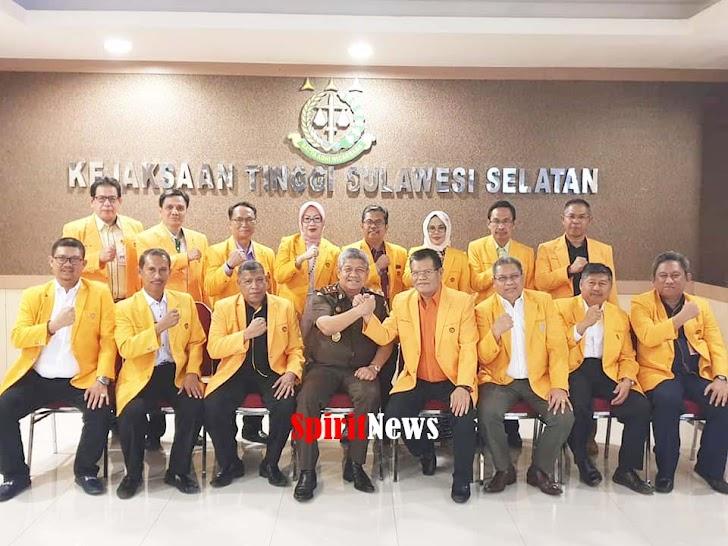 Rektor dan Para Wakil Rektor UNM Makassar, Silaturahmi Dengan Kajati Sulselbar