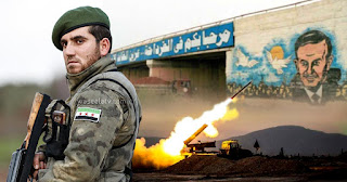 القرداحة تحت ضربات المعارضة السورية
