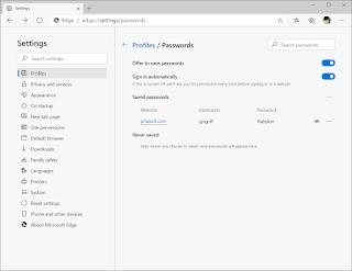 วิธีการดูรหัสผ่านที่บันทึกใน Microsoft Edge บน Windows 10 ขั้นตอนที่ 5