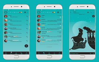 Aladdin & Jasmine Theme For YOWhatsApp & Fouad WhatsApp By Leidiane