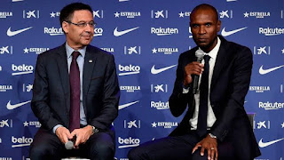 Eric Abidal to still continue as Barcelona sporting director