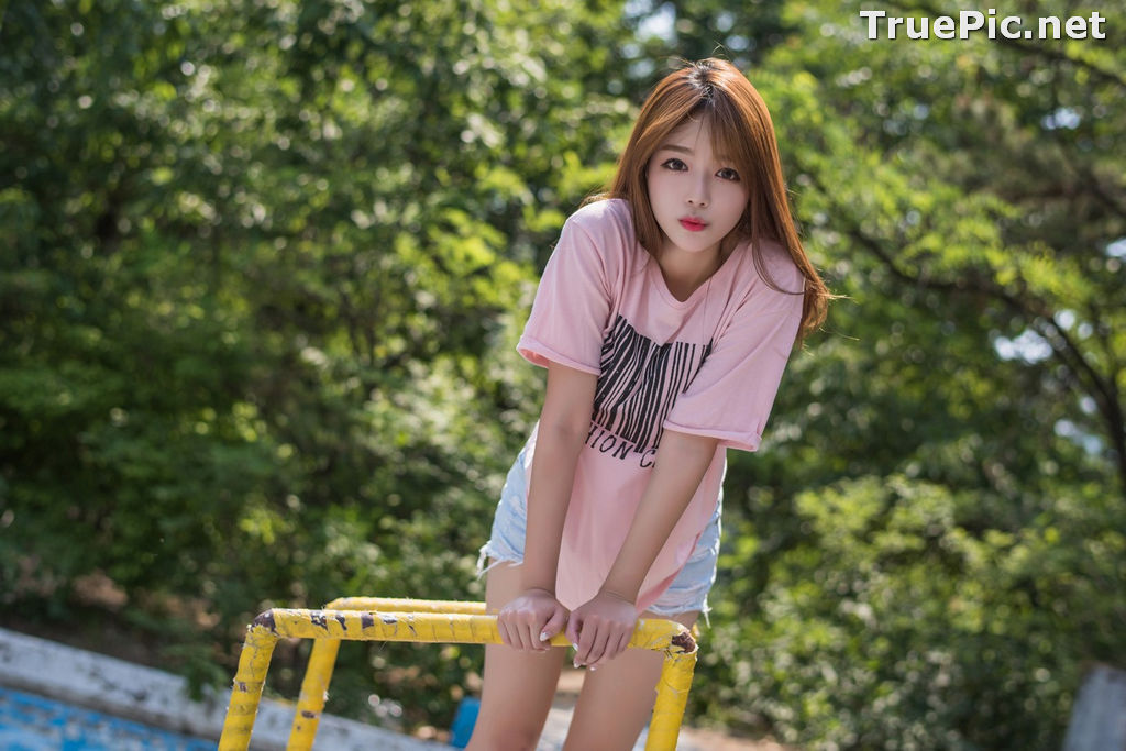 Image Korean Cute Model - Ji Yeon - You Can Follow Me - TruePic.net - Picture-7