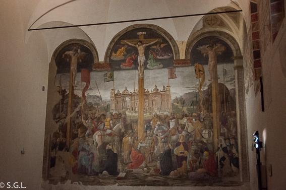 La crucifixión de Giovanni Donato. Milan