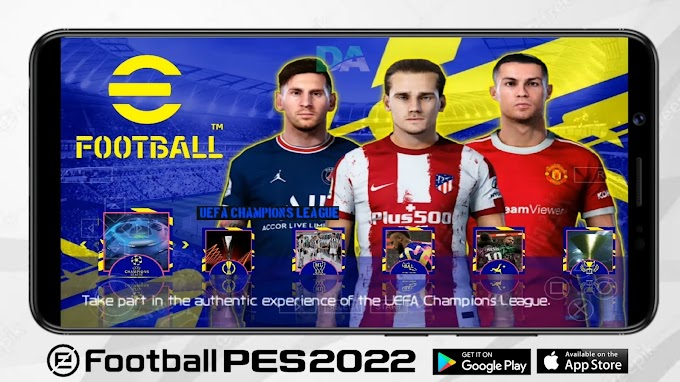 eFootball PES 2022 PPSSPP Download (Best PS5 Graphics,Latest Kits,Transfers)