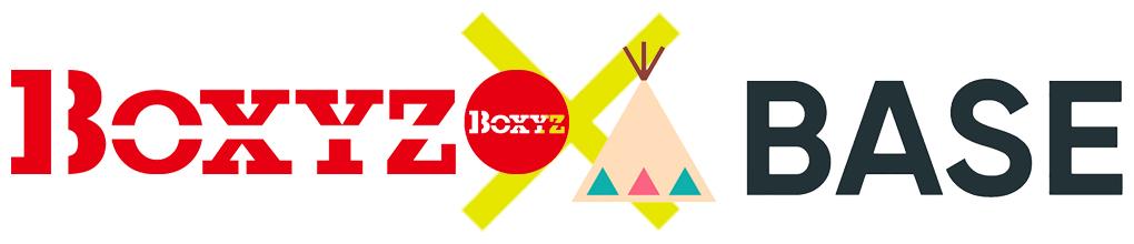 BOXYZ×BASEのコラボショッピングサイト