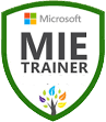 Microsoft Innovative Educator (MIE) Trainer, 2015-Present