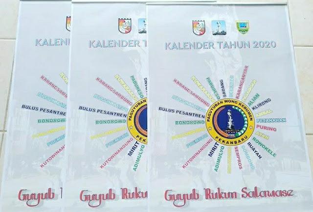 Kalender Organisasi 2020