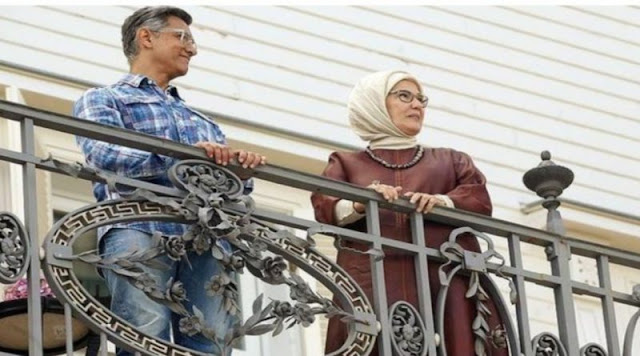 Bollywood Director Aamir Khan met Turkish First Lady Emine Ardawan and Indians got Angry