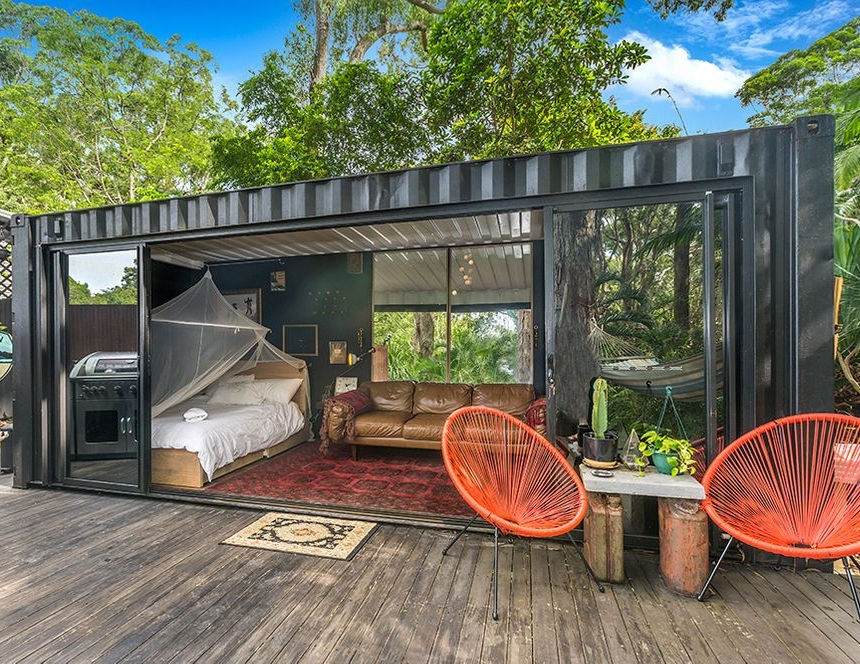 Shipping Container Homes Buildings 20 Ft Small And Cozy