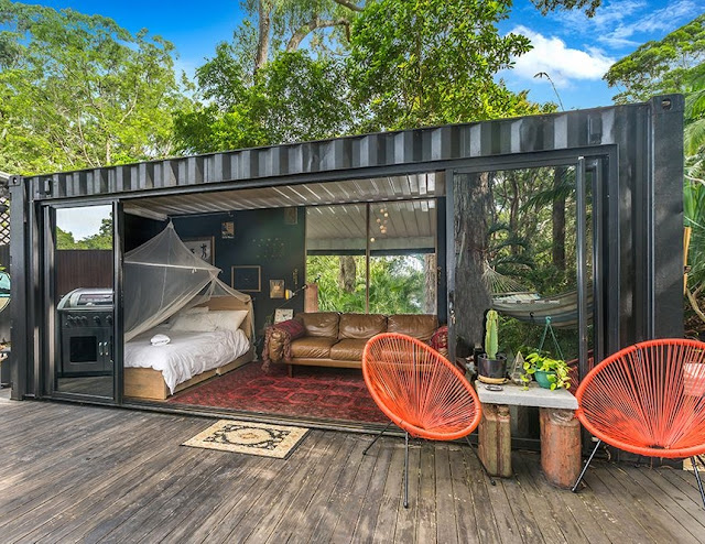 20 ft Small and Cozy Shipping Container House, NSW, Australia 1