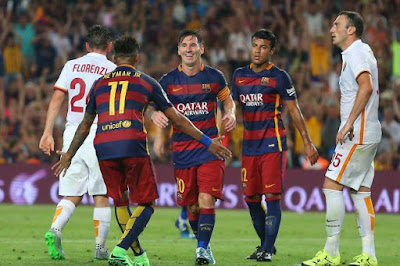 Barcelona vs AS Roma