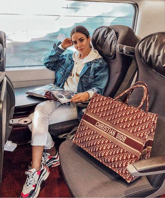 Tamara K Christian Dior Shopper Bag Balenciaga Triple S Low Sneakers