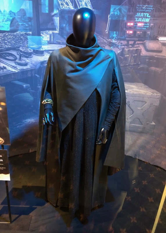 Star Wars Last Jedi Leia film costume