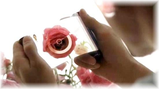Transparent Flexible Future Smartphone