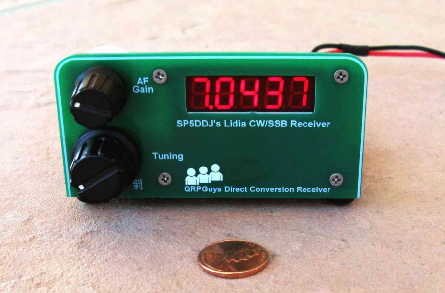 W2LJ QRP - When you care to send the very least!: QRPGuys new kit