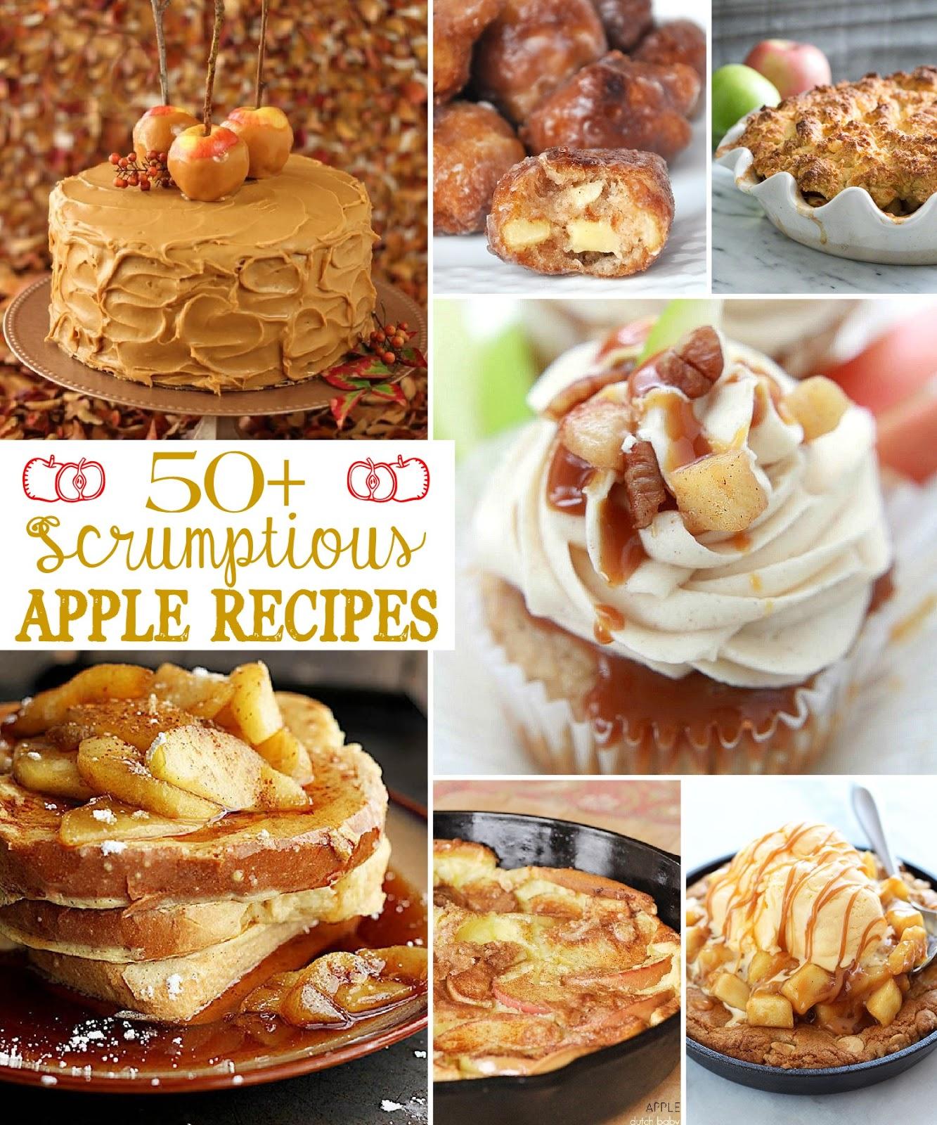 scrumptious apple recipes