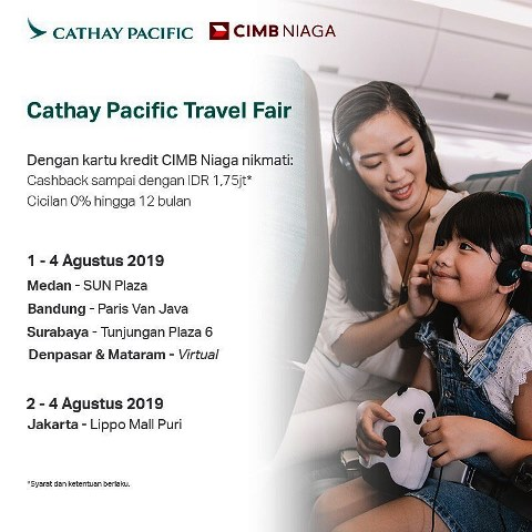 5 Travel Fair Menarik Akan Kembali Hadir Pada Agustus 2019!
