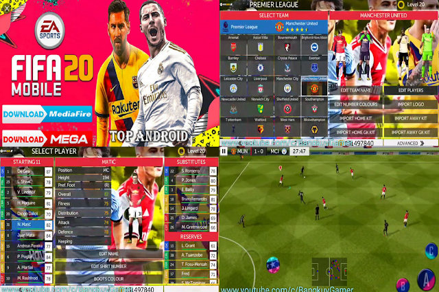 FTS 2020 MOD FIFA 20 Season 2020