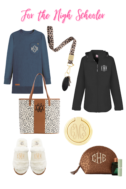 Back to School Monograms for the High Schooler