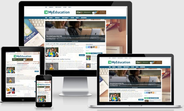 MyEducation Responsive Blogger Templates
