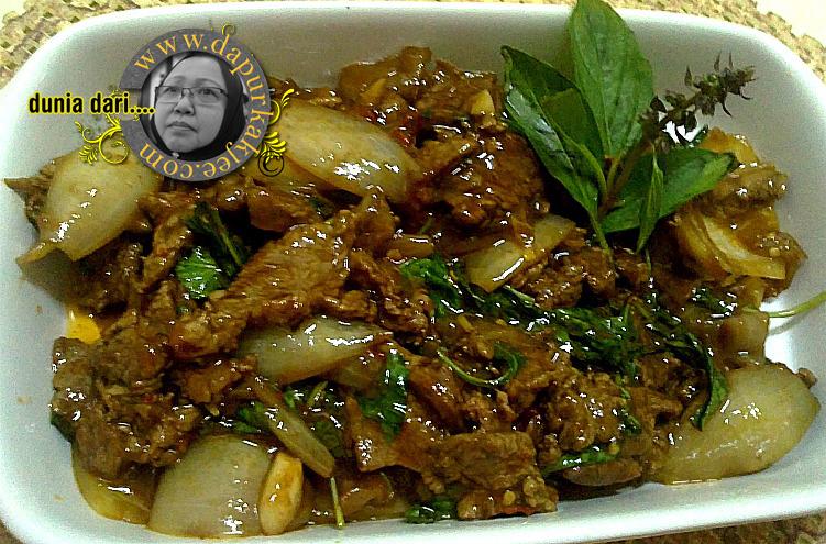 resepi daging daun selasih soalan Resepi Sup Daging Cincang Enak dan Mudah