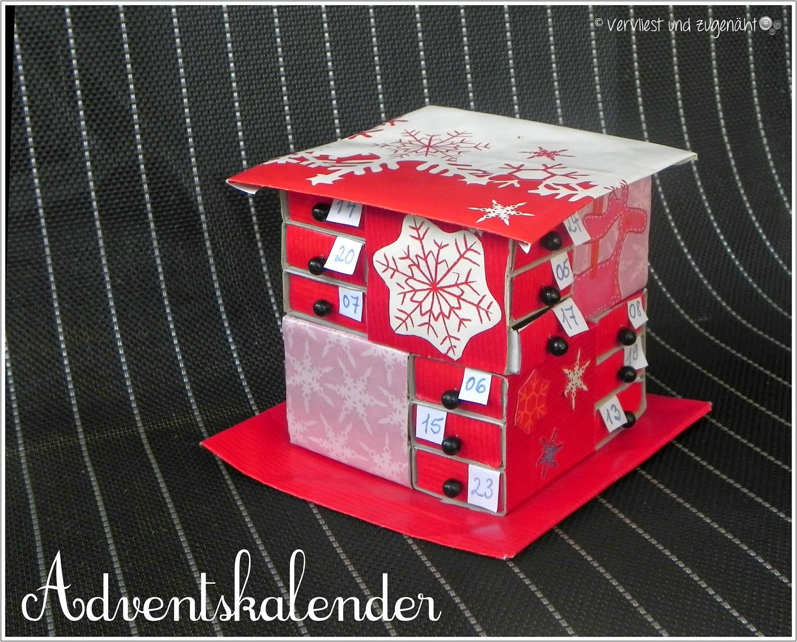 vervliest und zugen ht streichholzschachtel adventskalender. Black Bedroom Furniture Sets. Home Design Ideas