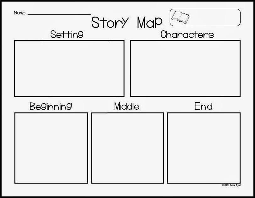 Mrs ByrdS Learning Tree Story Map Freebie