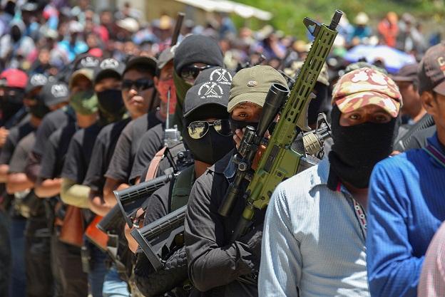 Milisi Pertahanan Diri Baru Muncul di Chiapas Meksiko untuk Memerangi Kejahatan Terorganisir