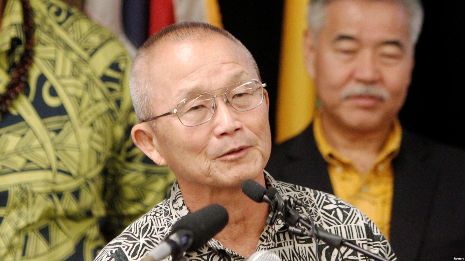 Director de la Agencia de Manejo de Emergencias de Hawái, Vern Miyagi