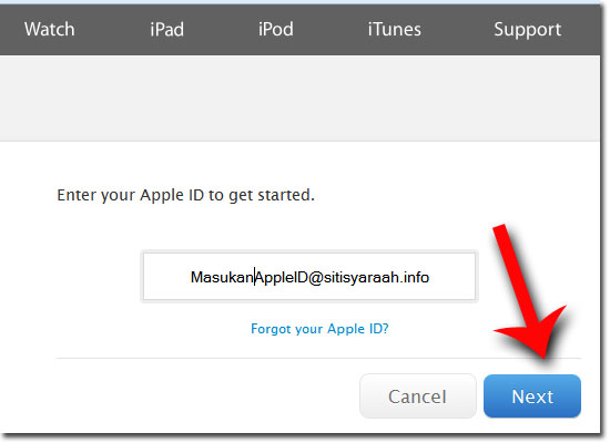 Cara Mengatasi iCloud iPhone Yang Lupa Passwoard