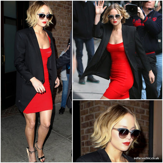 so far so chic: Jennifer Lawrence Kills It in Red