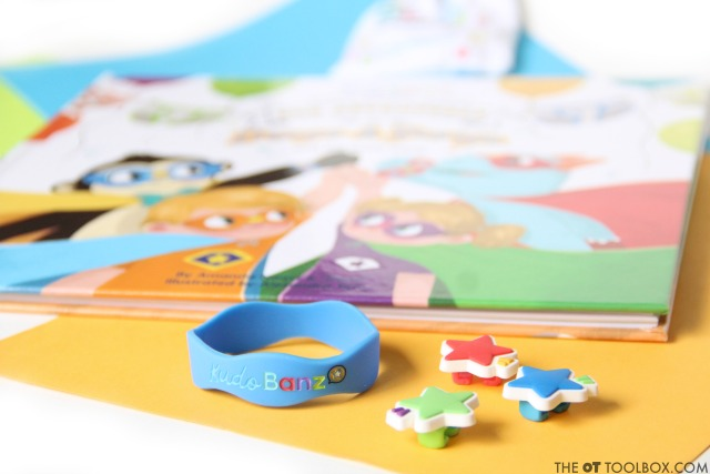 Use Kudo Banz to teach kids potty training incentives by receiving kudos for reaching personal goals.