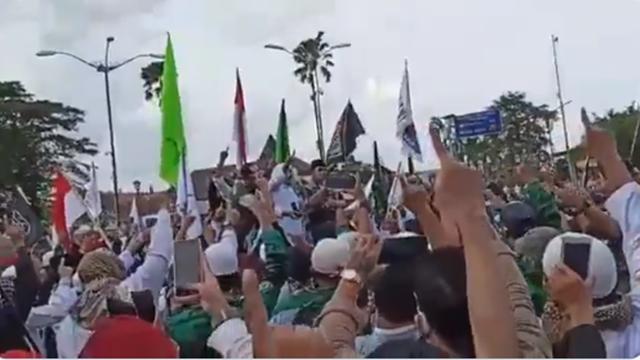 Aksi Tolak RUU HIP di Jogja, Massa Ormas Islam: Kita akan Korbankan Jiwa Raga untuk Menumpas PKI