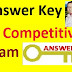 Answer Key  Of Competitive Examinations TAT (S)  Papers