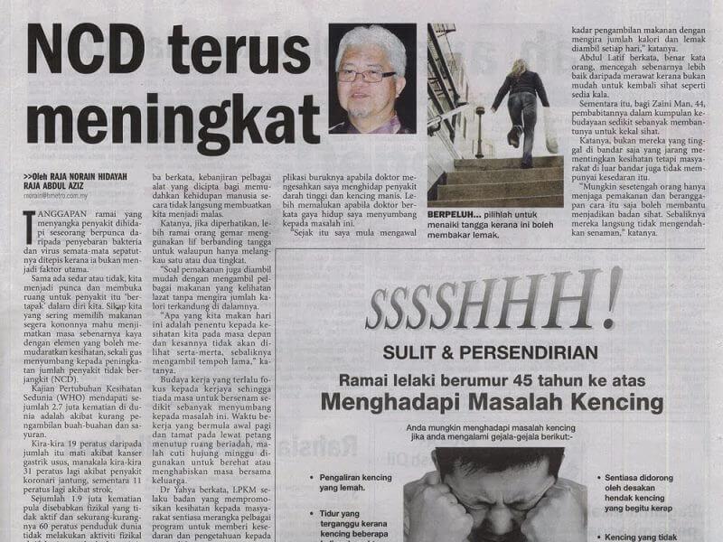 Penyakit kronik tidak berjangkit (NCD)