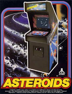 Arcade Atari Asteroids